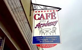 Cafe on acadany