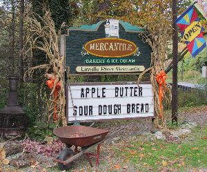 Linville River Mercantile bakery 1