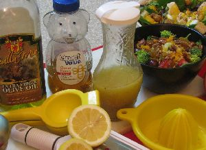 Lemon twist salad