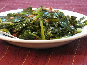 Simmered Collard Greens