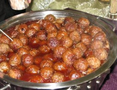 "BBQ MEATBALLS ""Feeding The Multitudes"""